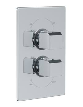 Abode Extase Concealed Thermostatic Shower Valve 1 Exit - AB2228