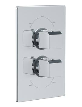 Extase Concealed Thermostatic Shower Valve 2 Exit - AB2229