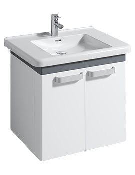 All 750mm Basin And 650mm Unit With Standard Shelves