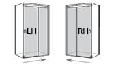Left/Right Handed Door