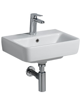 Related Twyford E200 450 x 340mm 1 Tap Hole Handrinse Basin - E24811WH