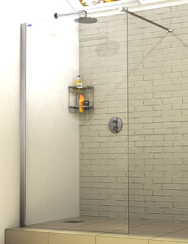 Linea Touch Wetroom Panel 900mm - 1260900500