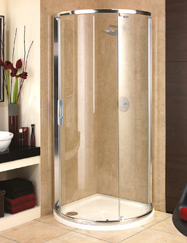 Glide Maxi Quadrant Single Door With Standard Tray - 6841002531