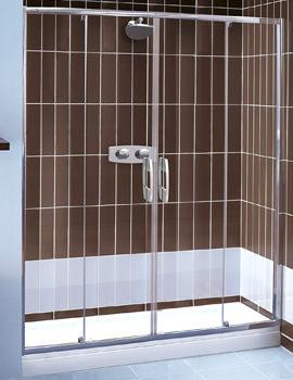 Glide 6mm Glass Twin Slider Door 1200mm - 6941200500