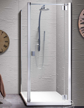 Manhattan 8 Hinged Shower Door 800mm