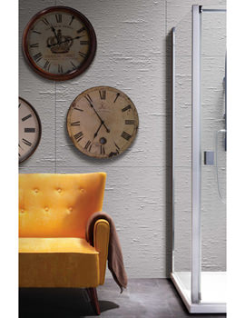 Manhattan 8 900mm Side Panel For Hinged Shower Door