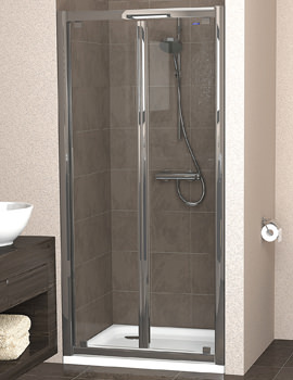 Showerlux Legacy Bi-fold Shower Door 1000mm - 6221000100
