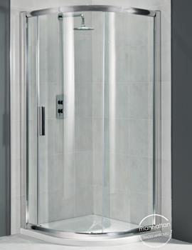 Related Manhattan 6 Quadrant Uno Shower Enclosure 800 x 800mm