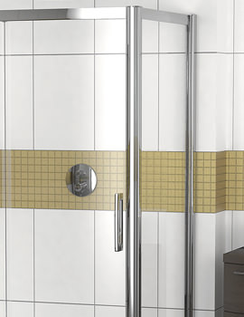 Related Showerlux Legacy 6mm Clear Glass Shower Side Panel 700mm - 6240700100