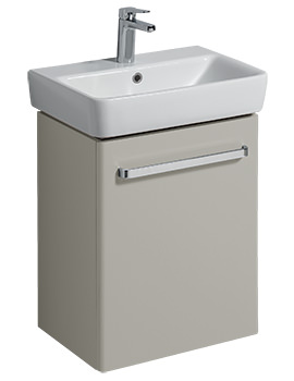 Related Twyford E200 500mm Grey Unit For 550mm 1 Or 2 Tap Hole Basin