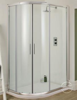 Manhattan 6 Offset Quadrant Duo Shower Enclosure 1200 x 900mm