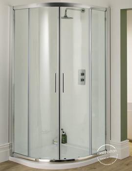 Manhattan 6 Quadrant Duo Shower Enclosure 800 x 800mm