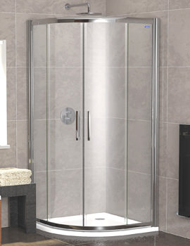 Showerlux Legacy Quadrant Twin Door 900 x 900mm - 6250900100