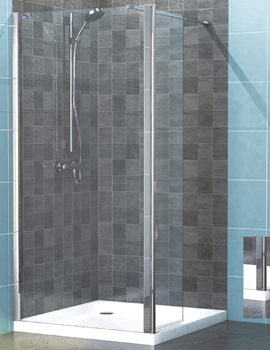 Legacy Hinged Wetroom Panel 1400mm - 6291400100