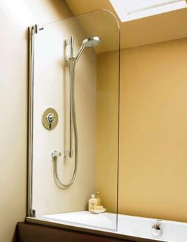 Showerlux Swing Moderna Shower Screen 915 x 1500mm - 1941001500
