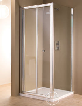 Manhattan 6 Bi-Fold Shower Door 800mm