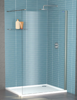 Showerlux Legacy Wetroom Panel 1100mm - 6281100100