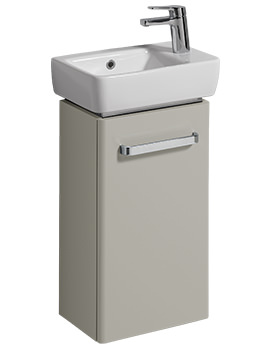 Related Twyford E200 348mm Grey Unit And 400mm 1 Right Hand Tap Hole Basin