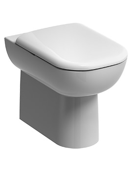 E500 Flushwise Back-To-Wall WC Pan 540mm - E51438WH