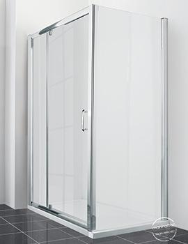 Manhattan New Era 6 Extended Pivot Shower Door 1400mm