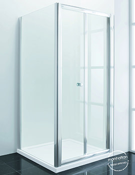 Related Manhattan New Era 6 BiFold Shower Door 1000mm - C10F4866NCC