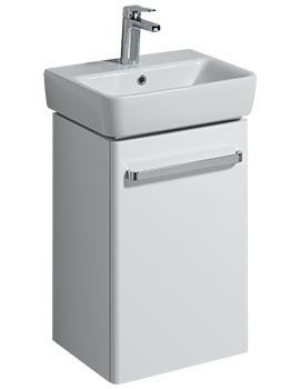 Related Twyford E200 400mm White Unit For 450mm 1 Or 2 Tap Hole Basin