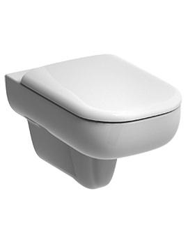 E500 Flushwise Wall Hung WC Pan 540mm - E51738WH