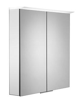 Roper Rhodes Visage 655mm White LED Illuminated Mirror Cabinet - VS65ALW