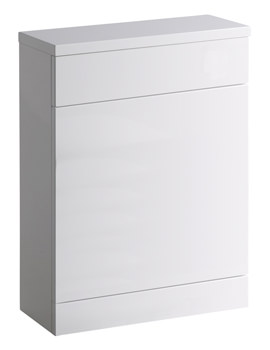 Profile 600mm Back To Wall WC Unit And Worktop - CON6BTWW