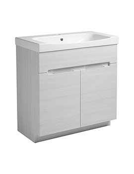 Diverge Alpine Elm 800 x 810mm Freestanding Unit - DIV8FAE