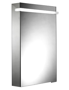 Roper Rhodes Impress Illuminated Mirror Cabinet - MP50AL