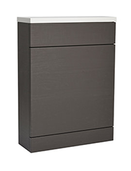 Related Roper Rhodes Diverge Charcoal Elm 600mm Back To Wall Wc Unit And Worktop