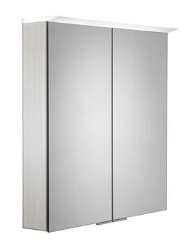 Related Roper Rhodes Visage 655mm Alpine Elm LED Illuminated Mirror Cabinet