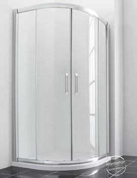 Manhattan New Era 6 Offset Quadrant Duo Shower Enclosure 1000 x 800mm