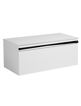 Pursuit White 900mm Wall Mounted Unit - PUR900W