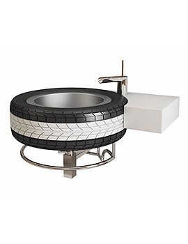 Supplies Mac Wheel Basin With Bottle Trap - MACW23871