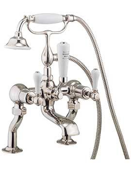 Related Crosswater Belgravia Lever Nickel Deck Mounted Bath Shower Mixer Tap