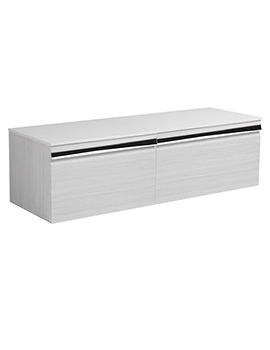 Pursuit Alpine Elm 1200 x 370mm Wall Mounted Unit