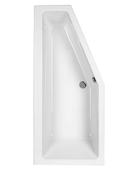 EX-DISPLAY - Carron Quantum Carronite Bath 1700 x 750mm Right Hand