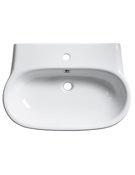 Memo 700mm Wall Mounted Or Countertop Basin - ME70SB
