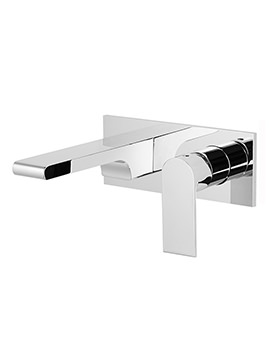 Related Roper Rhodes Code Wall Mounted Basin Mixer Tap Chrome