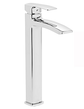 Related Roper Rhodes Sync Tall Basin Mixer Tap With Click Clack Waste