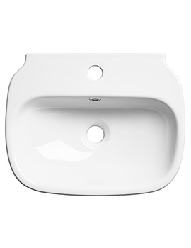 Note 450mm Wall Mounted Or Countertop Basin - N45SB
