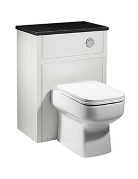 Related Roper Rhodes Hampton Chalk White Back To Wall Wc Unit 600mm - HAM600BTW.W