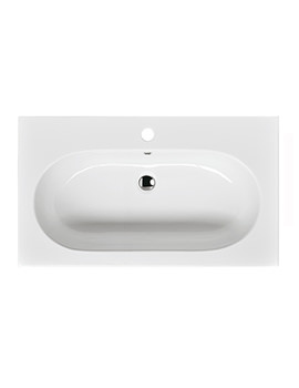 Roper Rhodes Theme 810 x 465mm Wall Mounted Basin - T80SB