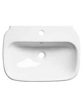 Roper Rhodes Note 550mm Wall Mounted Or Countertop Basin - N55SB