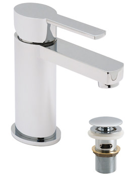 Soho Mono Basin Mixer Tap With Clic-Clac Waste