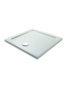 Flight Low 4 Upstand Square Shower Tray