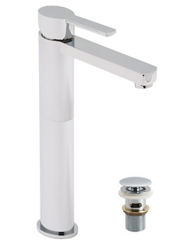 Soho Extended Mono Basin Mixer Tap With Clic-Clac Waste