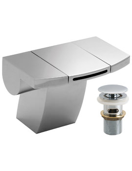 Related Vado Summit Mono Basin Mixer Tap With Clic-Clac Waste